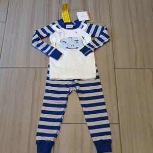 Hanna Andersson toddler 90 pajamas